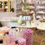 various sweets on display